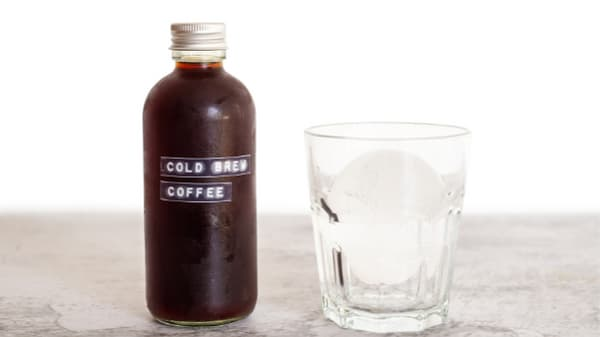 cold brew and ice